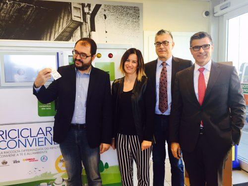 A RUBIERA SI PREMIA IL RICICLO – Inaugurazione odierna della 13° edizione della campagna ambientale Riciclare Conviene, promossa da Conad e Tetra Pak