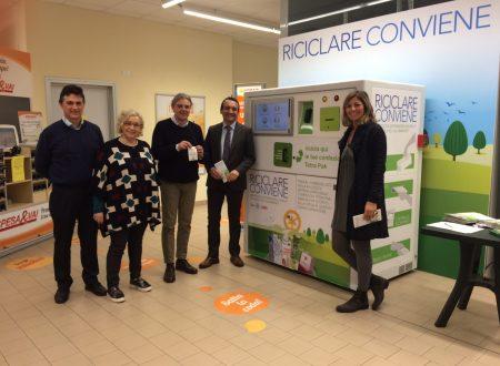 Inaugurata a Piacenza Riciclare Conviene, campagna ambientale che premia il riciclo