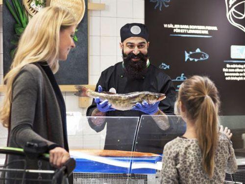 Coop in Svezia elimina le scatole di polistirolo per il pesce