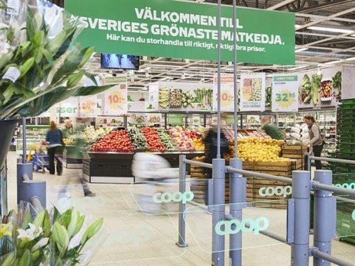 Coop Svezia fissa gli obiettivi per la riduzione degli sprechi alimentari: -1% entro il 2025